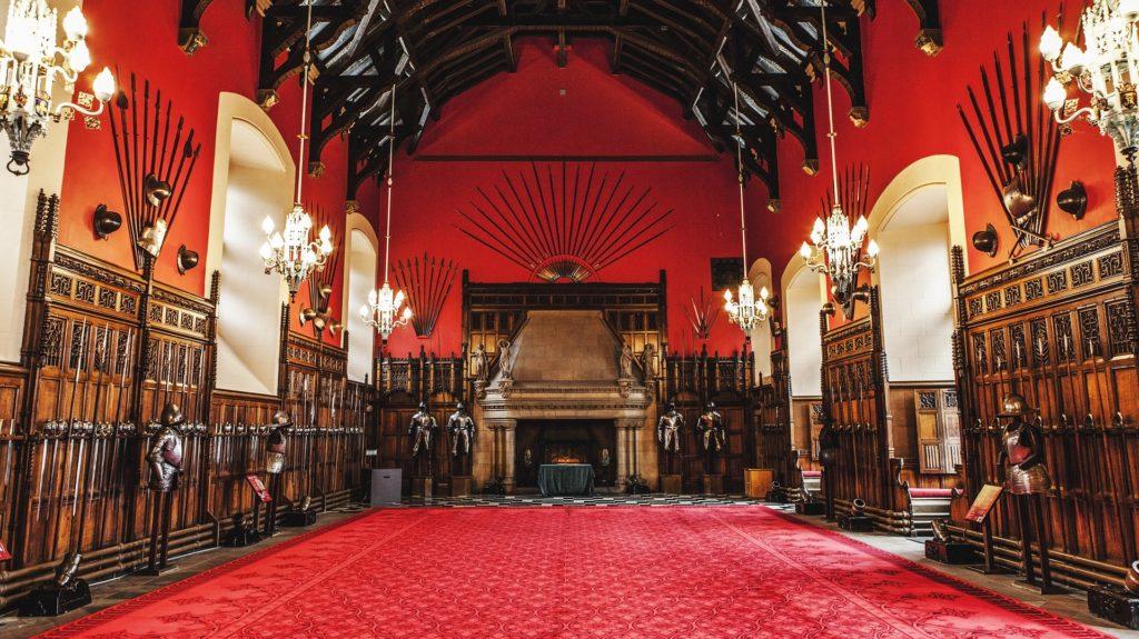 Edinburgh Castle Red Room