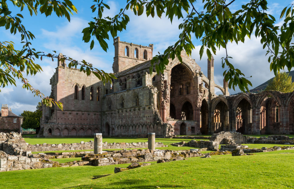 Melrose Abbey _ Roxburghshire