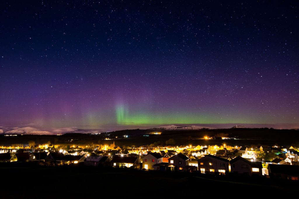 Edinburgh Northern Lights