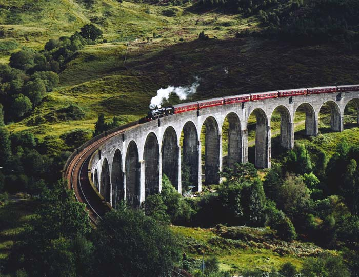 Jakobite Train, Scotland