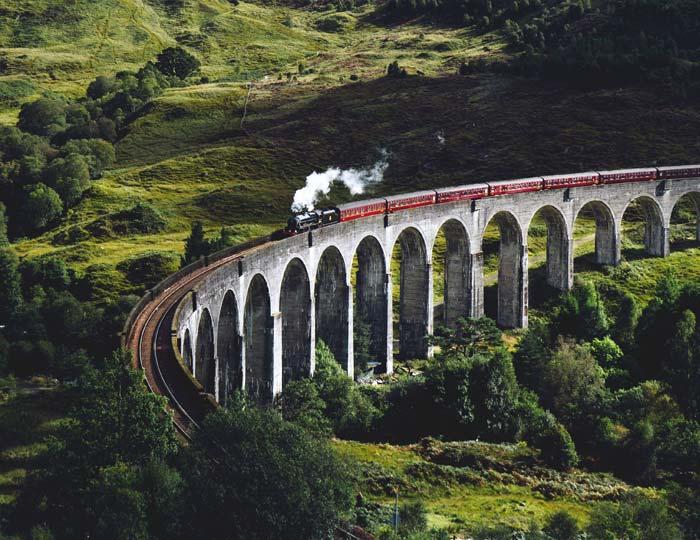 Jakobite Train, Scotland