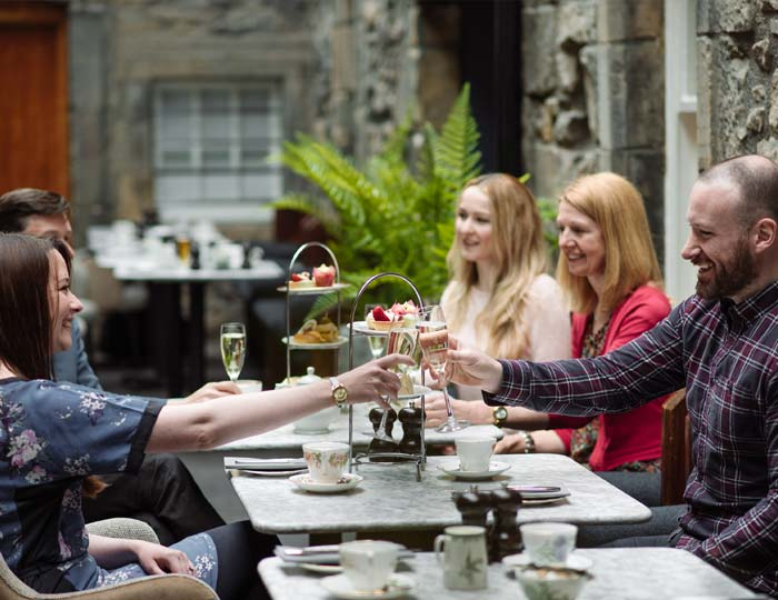 Afternoon Tea, Edinburgh Castle