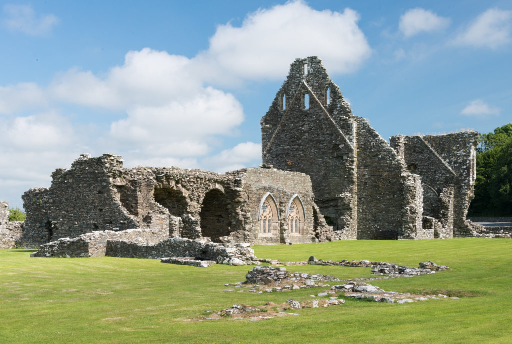 Glenluce Abbey in Scotland