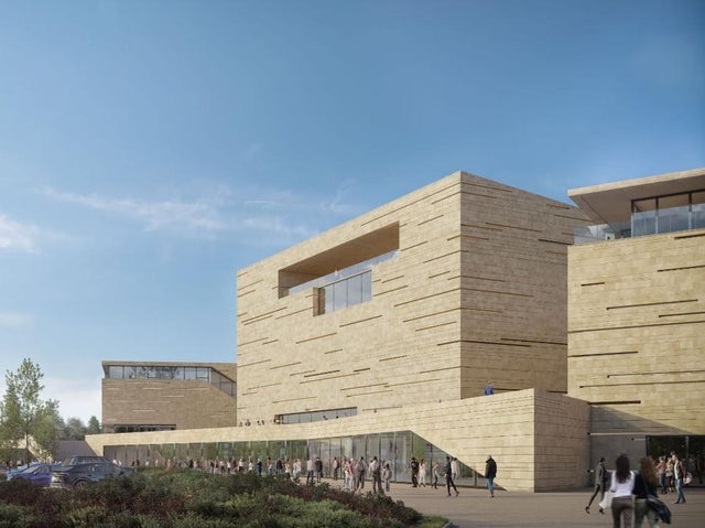 Mock up design of an Indoor Arena stadium in Edinburgh