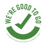 Visit Scotland's We're Good to Go logo