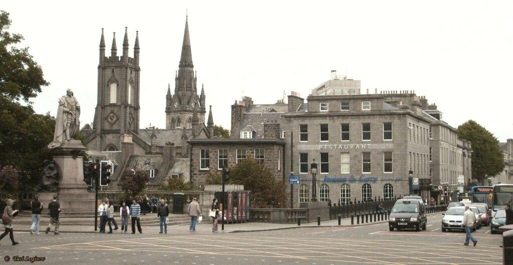 a street in Aberdeen